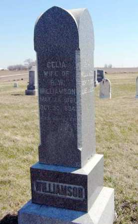 WILLIAMSON, CELIA - Adair County, Iowa | CELIA WILLIAMSON