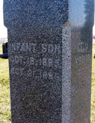 WILLIAMSON, INFANT SON - Adair County, Iowa   INFANT SON WILLIAMSON
