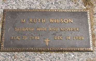 WILSON, M. RUTH - Adair County, Iowa | M. RUTH WILSON