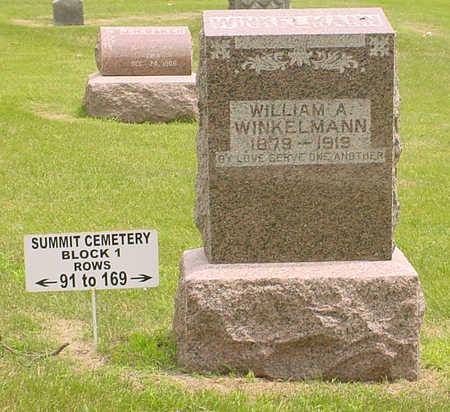 WINKELMANN, WILLIAM A. - Adair County, Iowa   WILLIAM A. WINKELMANN