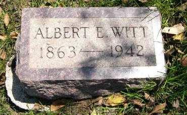 WITT, ALBERT E. - Adair County, Iowa   ALBERT E. WITT
