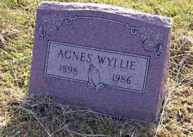 WYLLIE, AGNES - Adair County, Iowa | AGNES WYLLIE