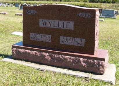 WYLLIE, ANDREW G. - Adair County, Iowa | ANDREW G. WYLLIE