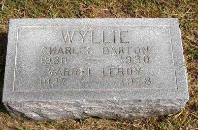 WYLLIE, VARREL LEROY - Adair County, Iowa | VARREL LEROY WYLLIE