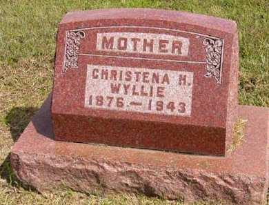 WYLLIE, CHRISTENA H. - Adair County, Iowa   CHRISTENA H. WYLLIE