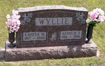 WYLLIE, LAVETA M. - Adair County, Iowa | LAVETA M. WYLLIE