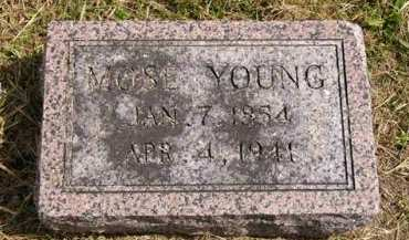 YOUNG, MOSE - Adair County, Iowa | MOSE YOUNG