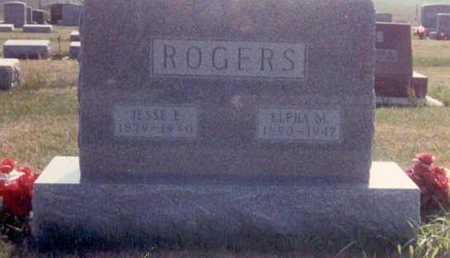 POPE ROGERS, ELPHA MAY - Adair County, Iowa | ELPHA MAY POPE ROGERS
