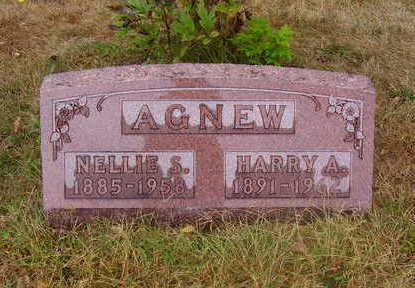 LAWRENCE AGNEW, NELLIE S. - Adams County, Iowa | NELLIE S. LAWRENCE AGNEW