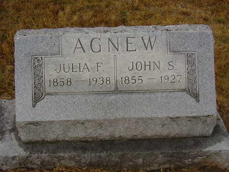 AGNEW, JOHN - Adams County, Iowa | JOHN AGNEW