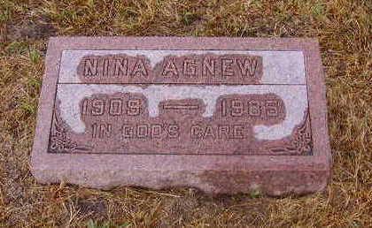 AGNEW, NINA - Adams County, Iowa | NINA AGNEW