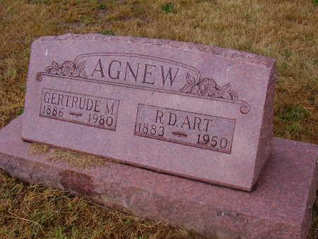 AGNEW, R. D. ART - Adams County, Iowa | R. D. ART AGNEW
