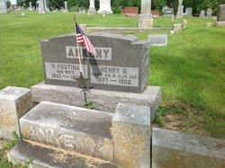 NEWCOMB ANKENY, H. FOSTINA - Adams County, Iowa   H. FOSTINA NEWCOMB ANKENY