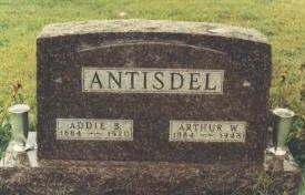 ANTISDEL, ARTHUR WINNE - Adams County, Iowa | ARTHUR WINNE ANTISDEL