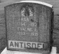 WELLS ANTISDEL, EVALINE L. - Adams County, Iowa | EVALINE L. WELLS ANTISDEL