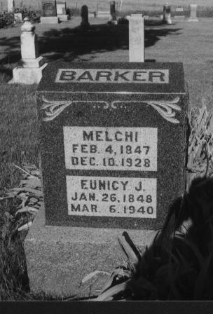 BARKER, EUNICY - Adams County, Iowa | EUNICY BARKER
