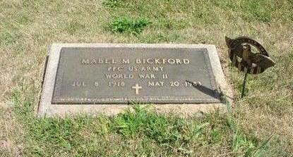BICKFORD, MABEL M - Adams County, Iowa | MABEL M BICKFORD