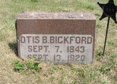 BICKFORD, OTIS - Adams County, Iowa   OTIS BICKFORD