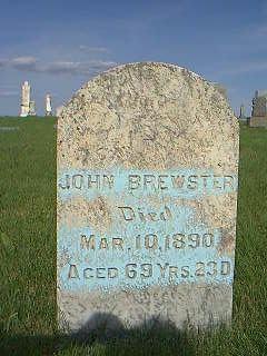 BREWSTER, JOHN - Adams County, Iowa | JOHN BREWSTER