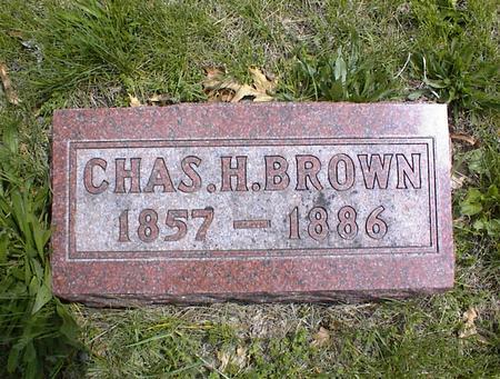 BROWN, CHARLES HENRY - Adams County, Iowa | CHARLES HENRY BROWN