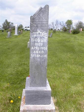 BROWN, THOMAS D. - Adams County, Iowa | THOMAS D. BROWN