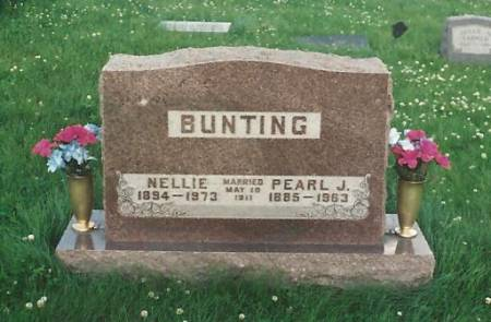 BUNTING, NELLIE ESTHER - Adams County, Iowa | NELLIE ESTHER BUNTING