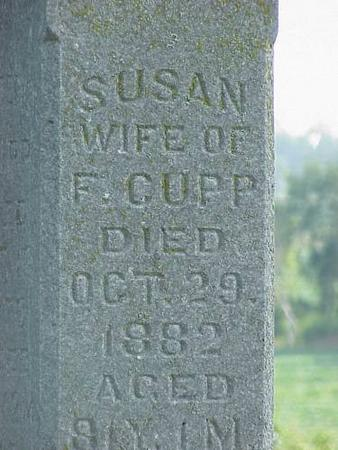 CUPP, SUSAN - Adams County, Iowa | SUSAN CUPP