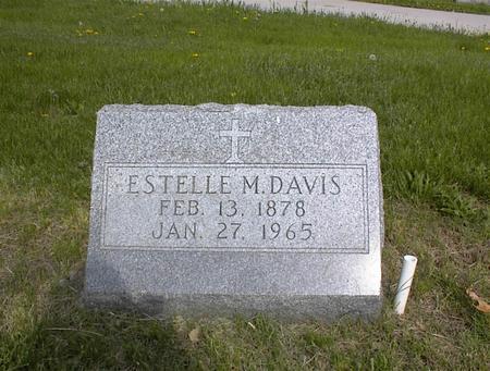 DAVIS, ESTELLE M. - Adams County, Iowa | ESTELLE M. DAVIS