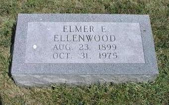 ELLENWOOD, ELMER E. - Adams County, Iowa | ELMER E. ELLENWOOD