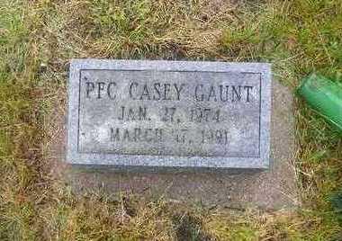 GAUNT, CASEY LEE EUGENE - Adams County, Iowa | CASEY LEE EUGENE GAUNT