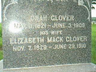 GLOVER, ELIZABETH - Adams County, Iowa | ELIZABETH GLOVER
