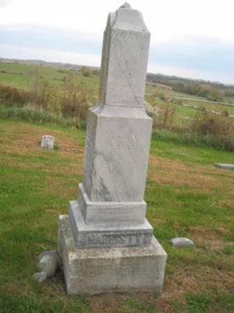 HARDISTY, GEORGE WASHINGTON - Adams County, Iowa   GEORGE WASHINGTON HARDISTY