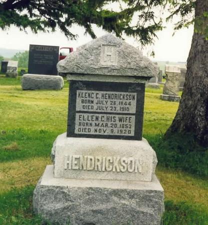 HENDRICKSON, KLENG & ELLEN (TORSON) - Adams County, Iowa   KLENG & ELLEN (TORSON) HENDRICKSON