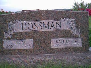 HOSSMAN, KATHLYN W. - Adams County, Iowa | KATHLYN W. HOSSMAN