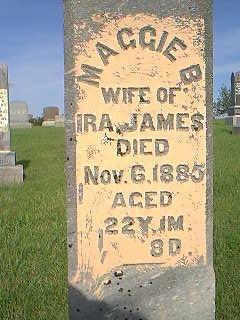 JAMES, MAGGIE - Adams County, Iowa | MAGGIE JAMES