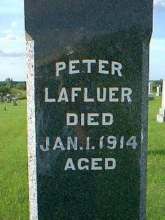 LAFLUER, PETER - Adams County, Iowa | PETER LAFLUER