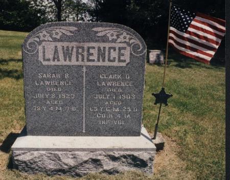 LAWRENCE, CLARK DEVOL - Adams County, Iowa | CLARK DEVOL LAWRENCE