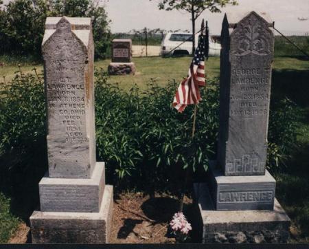 LAWRENCE, NANCY EMALINE - Adams County, Iowa | NANCY EMALINE LAWRENCE