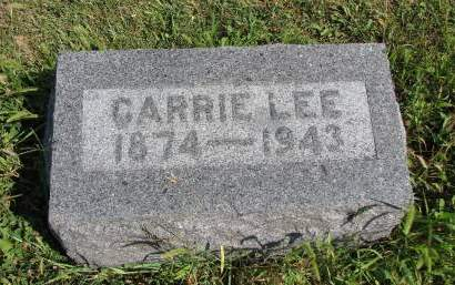 LEE, CARRIE MAY - Adams County, Iowa | CARRIE MAY LEE