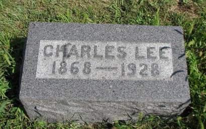 LEE, CHARLES WARREN - Adams County, Iowa | CHARLES WARREN LEE