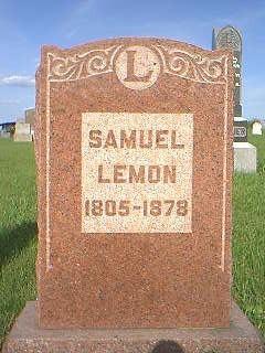 LEMON, SAMUEL - Adams County, Iowa | SAMUEL LEMON