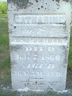 MCGAULEY, CATHERINE - Adams County, Iowa | CATHERINE MCGAULEY