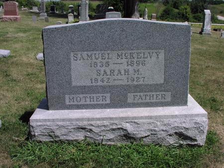 MCKELVY, SARAH M. - Adams County, Iowa | SARAH M. MCKELVY