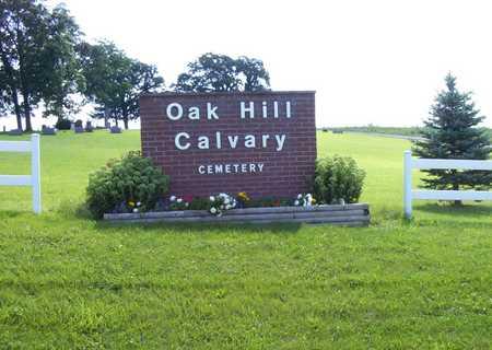OAK HILL, CEMETERY - Adams County, Iowa   CEMETERY OAK HILL