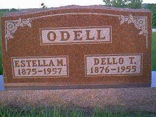 ODELL, ESTELLA M. - Adams County, Iowa | ESTELLA M. ODELL