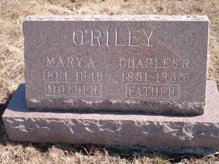 O'RILEY, MARY - Adams County, Iowa | MARY O'RILEY