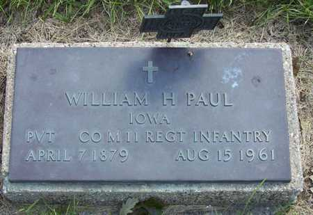 PAUL, WILLIAM H - Adams County, Iowa | WILLIAM H PAUL