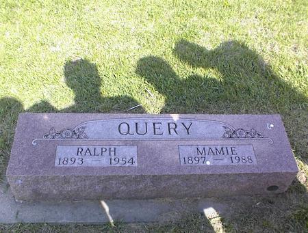 QUERY, GEORGE RALPH - Adams County, Iowa | GEORGE RALPH QUERY