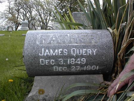 QUERY, JAMES - Adams County, Iowa   JAMES QUERY