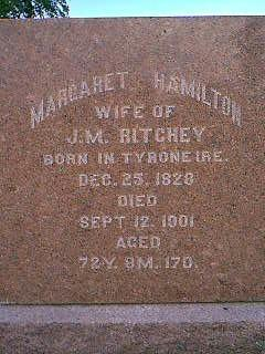 HAMILTON RITCHEY, MARGARET - Adams County, Iowa | MARGARET HAMILTON RITCHEY